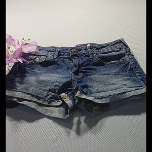 Vigoss size 1 blue jean shorts